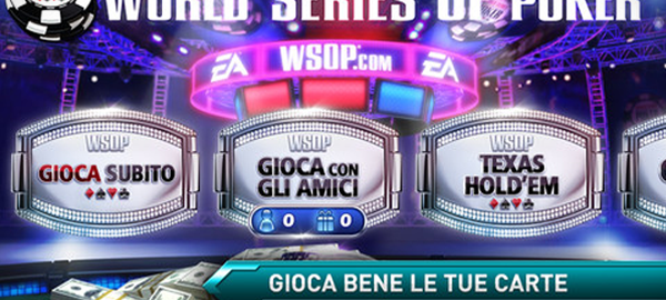 World Series of Poker su iPhone e iPad grazie ad EA